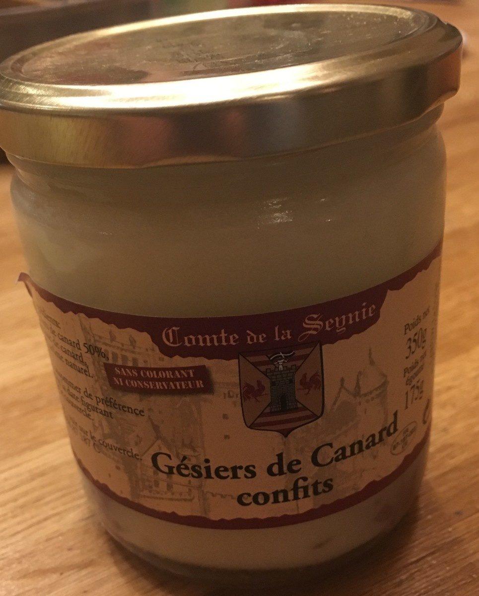 Gesiers de canard confits - Product - fr