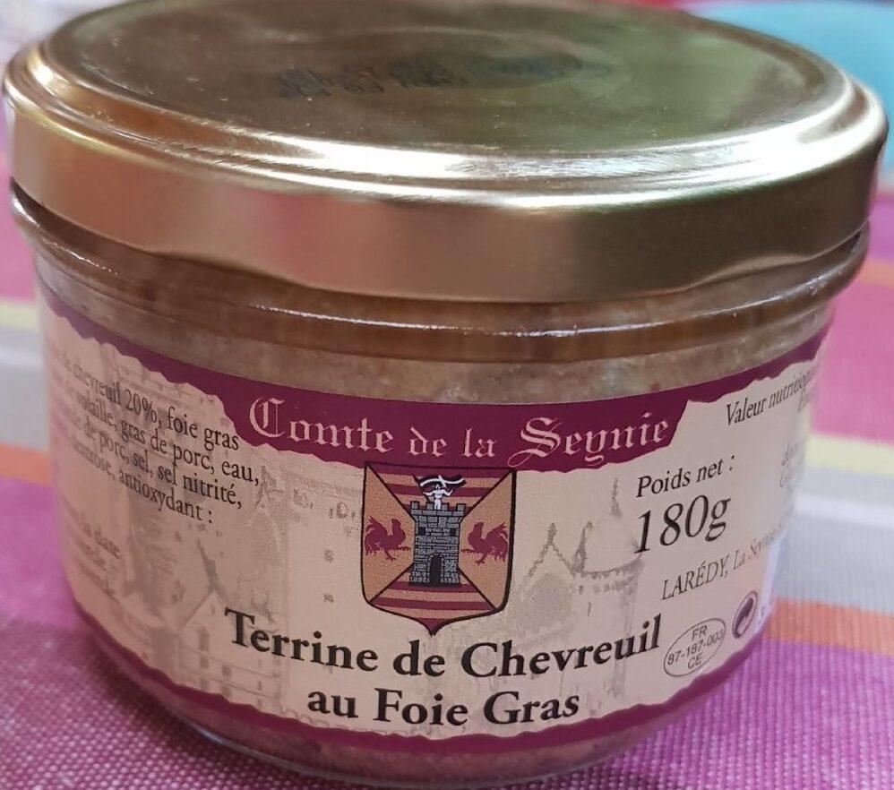Terrine de Chevreuil au Foie Gras - Product - fr