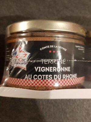 Terrines vigneronne au côtes du Rhône - Product - fr