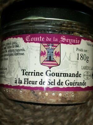 Terrine gourmande à la fleur de sel de guerande - Product