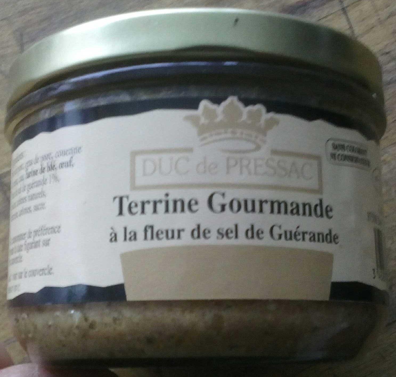 Terrine Gourmande à la fleur de sel de Guérande - Produit