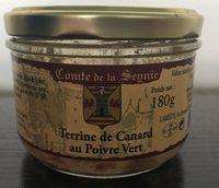 Terrine De Canard Au Poivre Vert - Product - fr