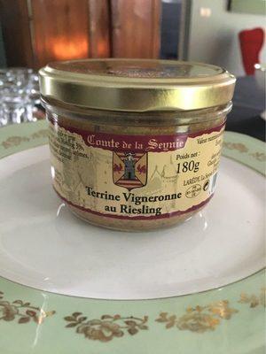 Terrine vigneronne au riesling - Product - fr