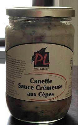 Canette sauce crémeuse aux cèpes - Produit