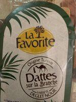 Dattes branchees naturelles de Tunisie Deglet Nour - Produit - fr