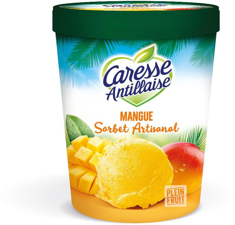 Sorbet plein fruit à la mangue - Produit - fr