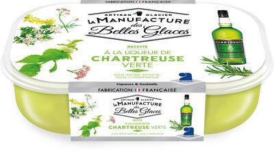 Glace à la liqueur Chartreuse verte - Product - fr