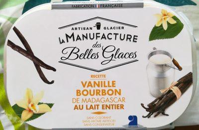 Crème glacée Vanille Bourbon de Madagascar au lait entier - Product