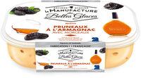 Glace à l'Armagnac avec morceaux de pruneaux macérés à l'Armagnac - Product - fr