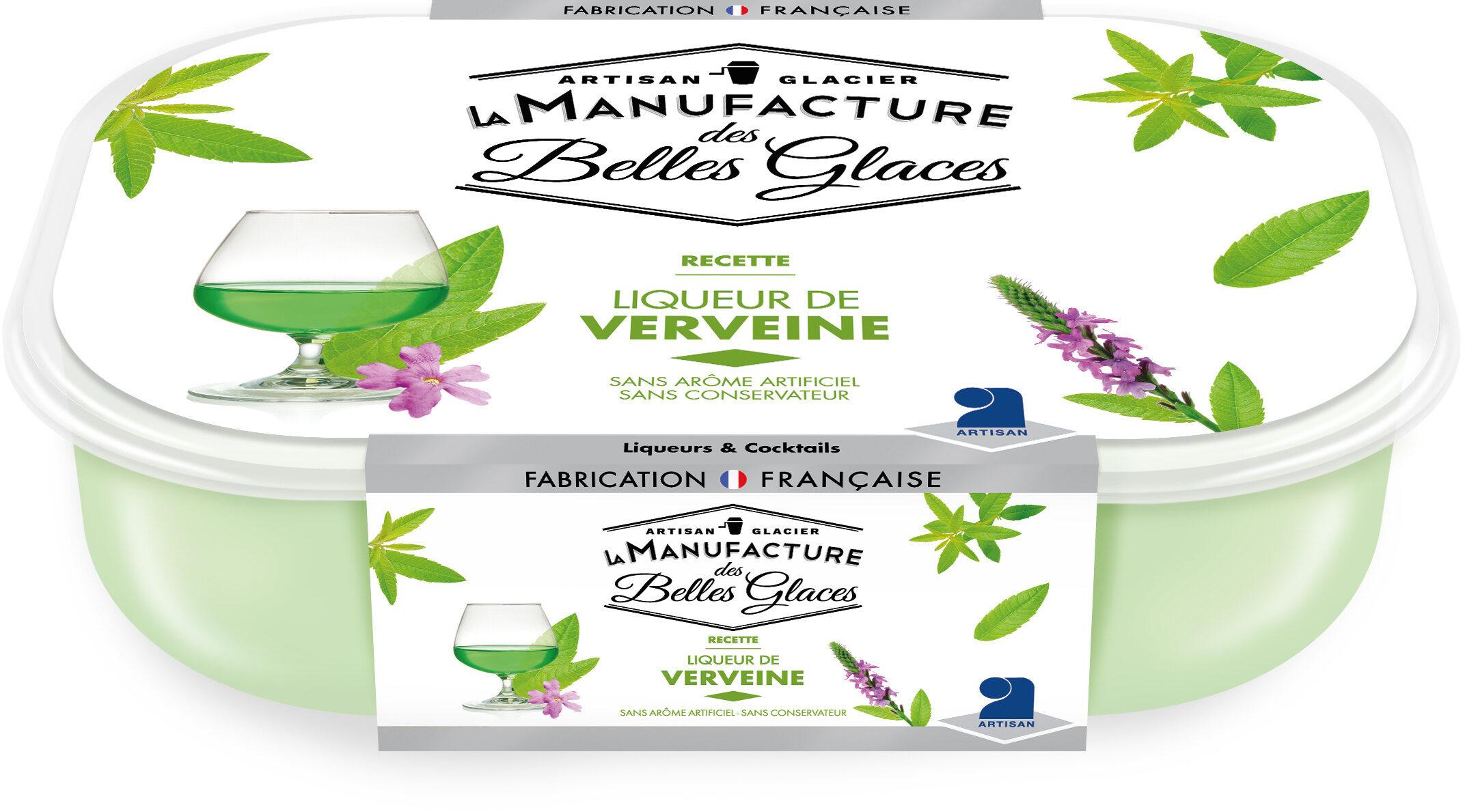Crème glacée à l'alcool de verveine - Product - fr