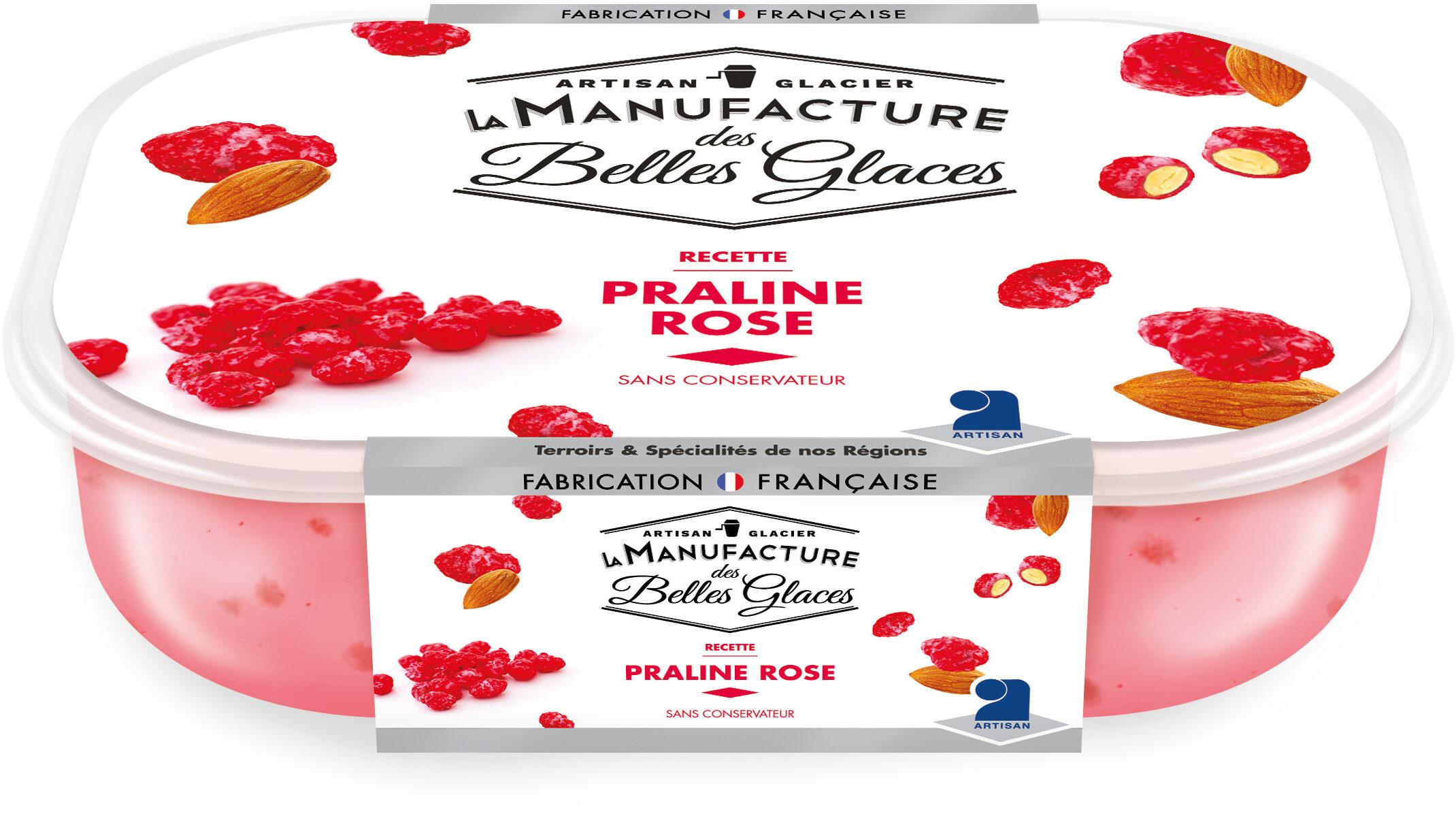 Crème glacée à la praline rose - Prodotto - fr