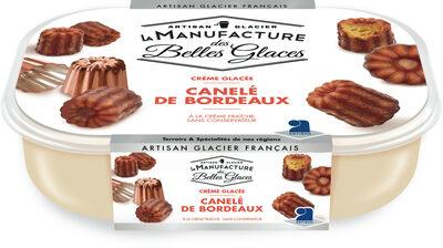 Crème glacée au canelé de Bordeaux - Product - fr