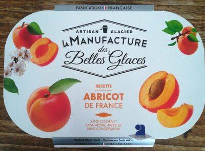 Sorbet Abricot de France - Produit