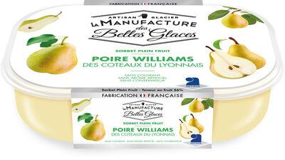 Sorbet plein fruit à la poire Williams - Product - fr