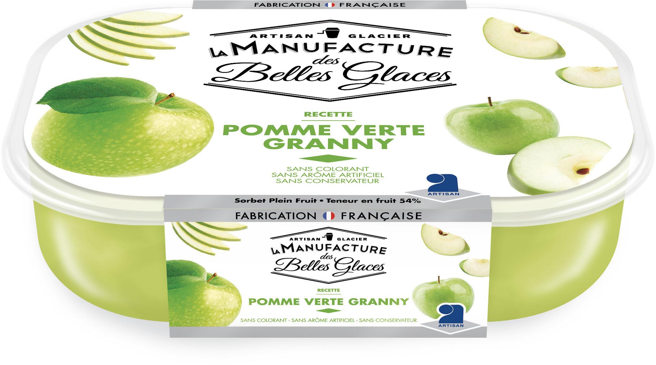 Sorbet plein fruit à la pomme verte Granny - Product - fr