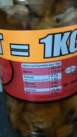 Potjevleesh - Informations nutritionnelles - fr