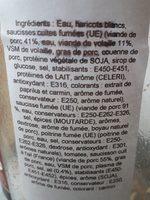 Cassoulet à la chicorée (+ 33 % Gratuit) - Ingrédients - fr