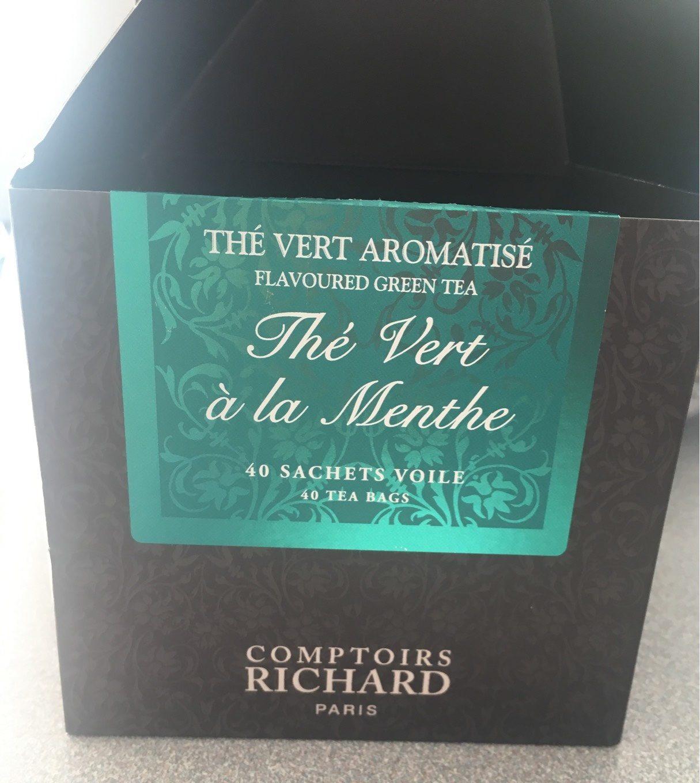 The Vert Aromatisé Comptoirs Richard