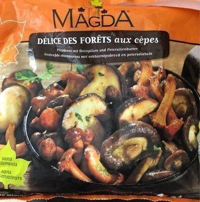 MAGDA : Poêlée de champignons aux cèpes et au beurre persillé - Product - fr