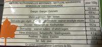 Petit épeautre cuit - Nutrition facts - fr