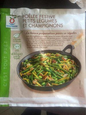 Poêlée festive petits légumes et champignons - Product