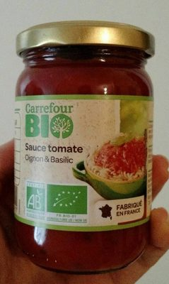 Sauce tomate oignons & basilic - Produit - fr