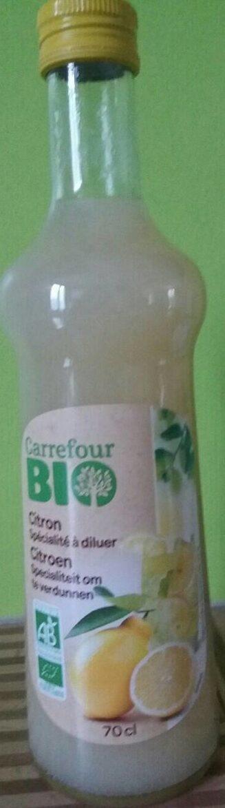 Citron spécialité à diluer - Prodotto - fr