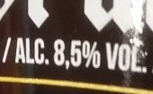 Pastor'ale - Nutrition facts - fr