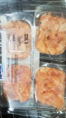 L'instant Saveur, tartare de saumon et légumes croquants - Produit