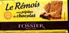 Le Rémois aux pépites de chocolat - Product