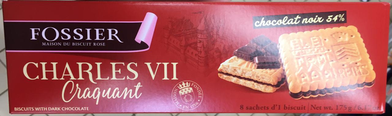 Charles VII craquant chocolat noir 54% - Product