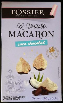 Le Véritable Macaron Coco Chocolat - Product - fr