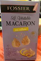 Le veritable macaron - Produit