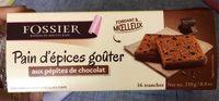 Pain d'épices goûter aux pépites de chocolat - Product - fr