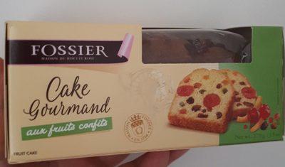 Cake Gourmand aux fruits confits - Product