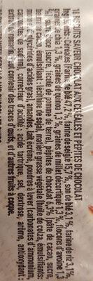 Le Rémois 7 céréales aux pépites de chocolat - Ingredients