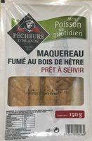 Mon Poisson au quotidien Maquereau fumés au bois de hêtre - Product - fr