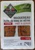 Maquereau Fumé au Bois de Hêtre - Poivre - Produit