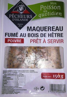 Maquereau Fumé au Bois de Hêtre - Poivre - Ingrediënten - fr