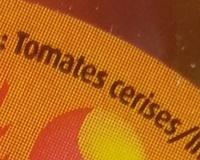 Les Duos Cerises, Rouge acidulée Jaune fruitée 250 g - Savéol - Ingrédients