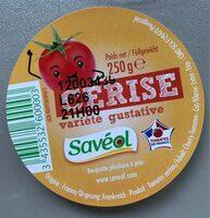 Les Cerises 250 g - Savéol - Informations nutritionnelles - fr