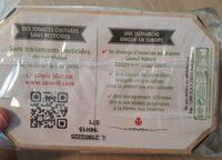 Tomates allongées - Informations nutritionnelles