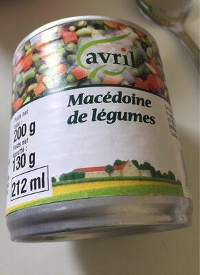 Macedoine de legumes - Produit - fr