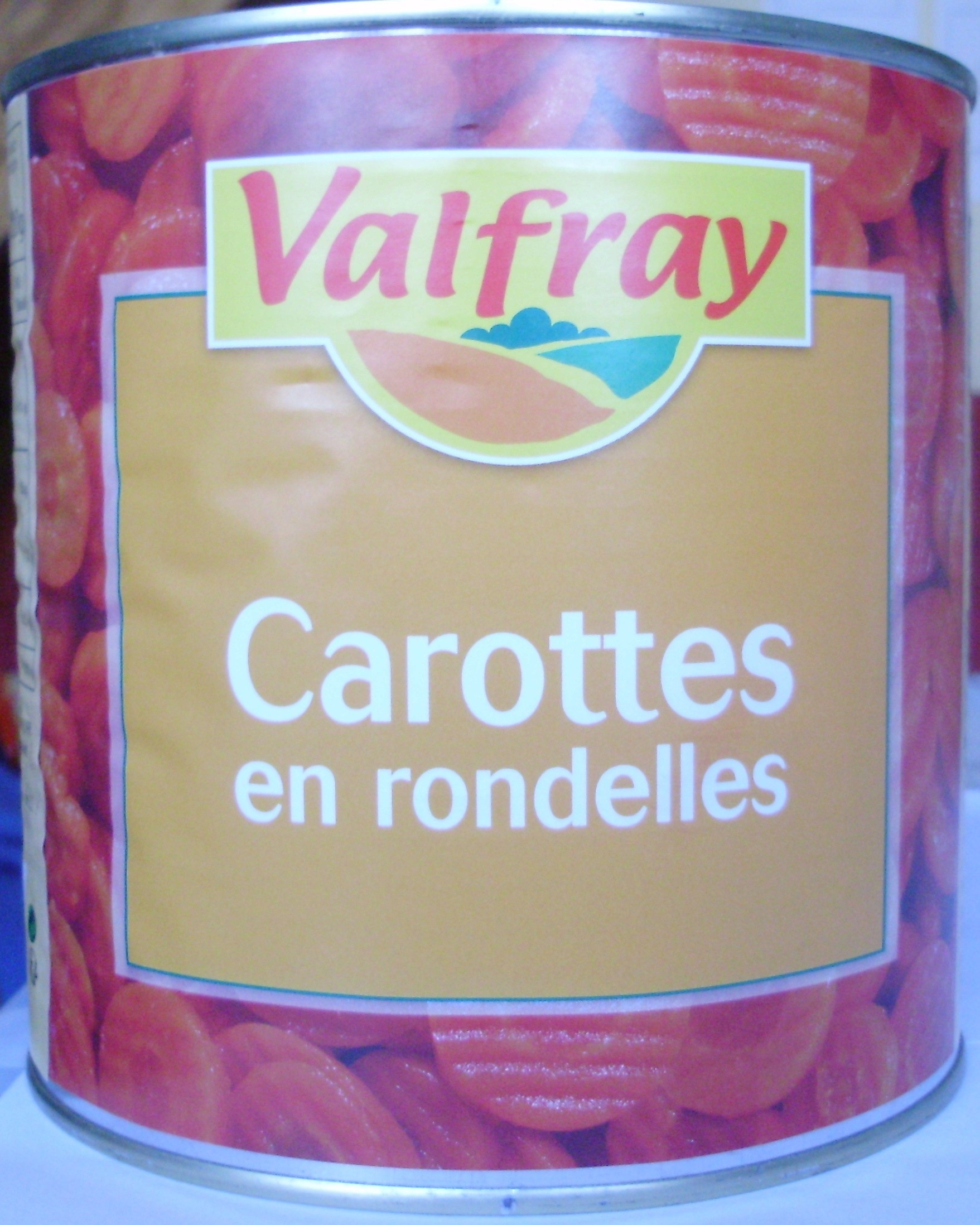 Carottes en rondelles - Produit - fr