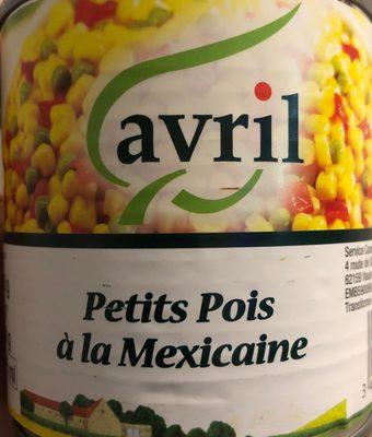 Petit pois a la mexicaine - Produit - fr