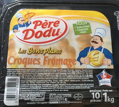 Croques fromage poulet x10 - Product