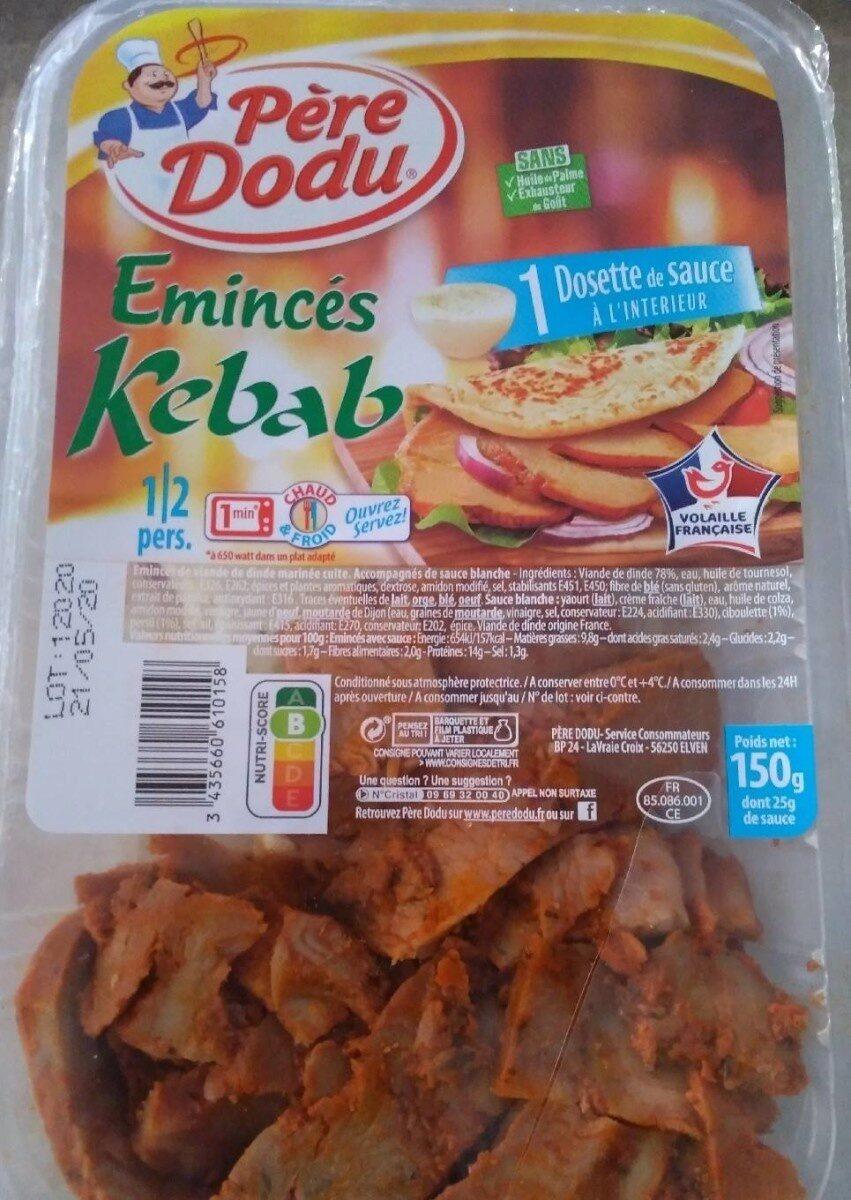 Émincés kebab - Produit - fr