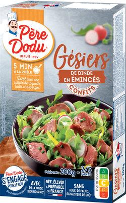 Gésiers émincés confits sauce ciboulette et persil - Prodotto - fr