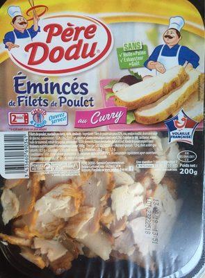 Émincés de Filets de Poulet au curry - Produit