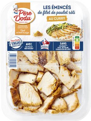 Émincés de filet poulet rôtis curry - Prodotto - fr